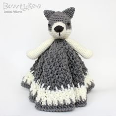 Ravelry: Wolf Lovey pattern by Briana Olsen