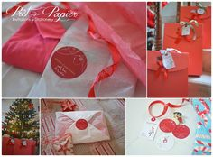 Personalised family stationery gift tag sets for the holidays