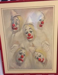 VINTAGE 1976 LEIGHTON JONES SIGNED LITHOGRAPH LAUGH CLOWN Collectible Gift  | Art, Art from Dealers & Resellers, Prints | eBay!
