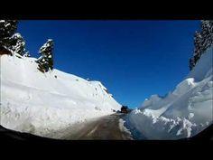Διαδρομές στο χιόνι... - YouTube