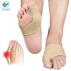 Deago Bunion Sleeve Toe Separators Corrector 2 Big Toe Protectors For Bunions Treatment Gel Toe Separators, Spacers, Straightener (1 Pair, 2pieces) - Walmart.com Bunion Pads, Gel Toe Separators, Toe Spreader, Bunion Relief, Bunion Shoes, Gel Toes, Hammer Toe, Big Toe, Foot Care