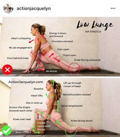 Click the link in my bio for a 20 Minute Yoga for Deep Hip Opening Video that includes this low lunge, and 5 other of my favorite stretches 🧘🏼♀️ Yoga Beginners, Yoga Bewegungen, Yoga Meditation, Men Yoga, Yoga Inspiration, Yoga Fitness, Yoga Posen, Flexibility Workout, Stretching Exercises