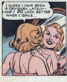 me after a mental breakdown tag someone who'd like Vintage Pop Art, Vintage Comic Books, Vintage Cartoon, Vintage Comics, Comic Books Art, Comic Art, Comic Book Girl, Archie Comics, Old Comics