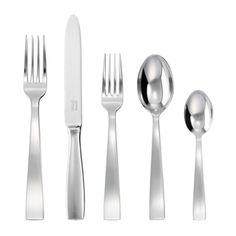 SAMBONET (Italy) -- Gio Ponti Silverplate 5-piece place setting Price: $200.00