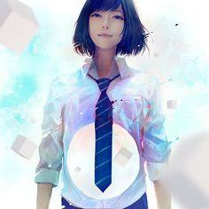 일본 여고생 초상화 일러스트 : 네이버 블로그