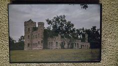 Work House Castle Landscape color photographic by SatanicCeramics