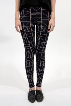 Small Square Legging