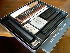 Prismacolor 24 piece charcoal set