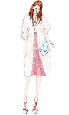 手绘 时装...来自晨紫薇光的图片分享-堆糖