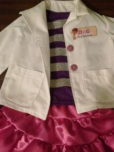 Doc McStuffins Outfit and Costume 4 pcs  by HandmadebyCatira, $79.99