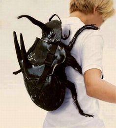 Backpack Rhinoceros Beetle