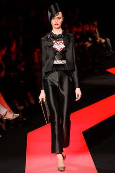 Armani Privé Spring 2013 Couture - Review - Vogue