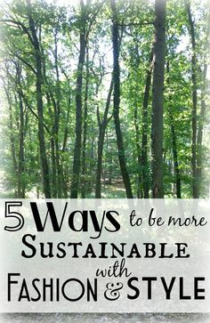 We all can make a difference. - 5 Ways to be more Sustainable with Fashion - The Closet Conundrum | Funky Jungle