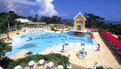 Sandals Ocho Rios, Jamiaca...went here for honeymoon...VERY relaxing!!  Gotta try a Dirty Banana if you ever go!!