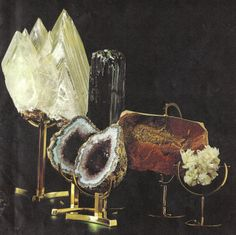 From Minerals: Nature's Fabulous Jewels by Arthur Court & Ian Campbell