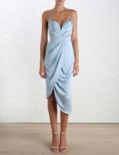 Sueded Silk U/W Dress