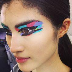 artful eyeliner at chanel spring 2014
