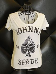 T-SHIRT - JSLC011 - JOSP ROCK BEAUTY [�13] T-SHIRT - JOHNNYSPADE WEBSHOP