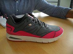 BRITISH KNIGHTS INC. B37-3665-03 Größe 42 20 Grey Pink - http://on-line-kaufen.de/british-knights/42-eu-british-knights-demon-damen-sneakers