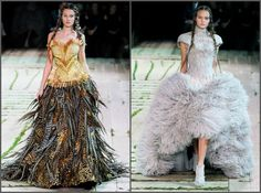Wheat and Pheasant Feathers at McQueen