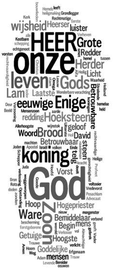 alle namen van God - Google zoeken