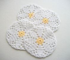 Crochet Coasters inspiration