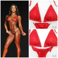 Red Crystallized Competition Bikini for NPC by NpcAngelBikinis