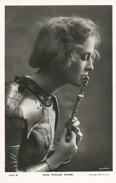 Pauline Chase as Joan of Arc