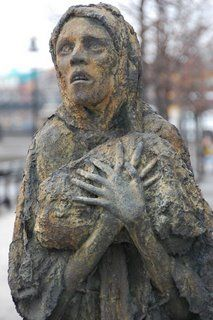 Irish famine.