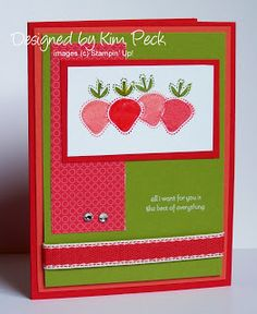 Julie's Stamping Spot -- Stampin' Up! Project Ideas by Julie Davison: Best of Everything Trio of Cards