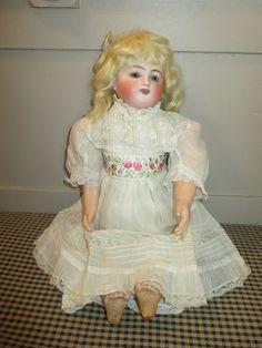 Antique Steiner Gigoteur Doll - Pretty Face - Kicker & Crier