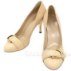 グッチ パンプス ヒール レディースサイズ35 1/2 304610 GUCCI 靴