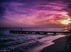 """""""When the day dreams away"""" ... dominican republic sunset"""