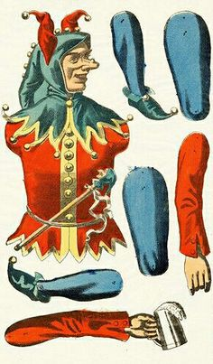 Victorian Paper Dolls, Jumping Jacks, Puppets, Ephemera, Cards, Fictional Characters, Paper, Toys, Maps