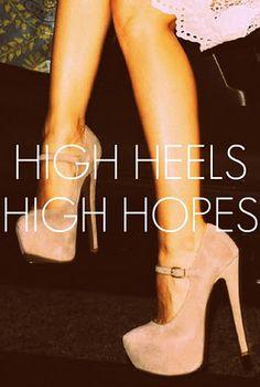 high heels high hopes #murphysdontquit #Murphystrong #prayforlauren