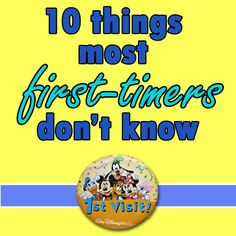 Today, I have a list of 10 things most first-time visitors to Disney World don't know before their trips, including some info to help explain each of these things. I also have a quick tip about how to know when to book the flights for your trip, especially since prices have gone up the last...