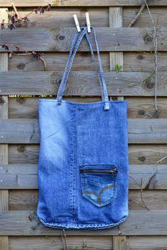 Pimp my old Jeans Jeans Bag