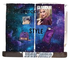 """All purple all day"" by queenofdraguns on Polyvore featuring beauty, Moschino and Casetify"