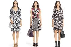 DVF dresses. FALL TRENDS 2014