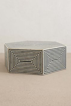 Hexa Inlay Coffee Table #anthropologie