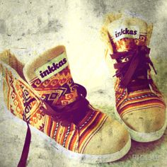 How cool are these #FairTrade #sneakers from Inkaas? Made in #Peru
