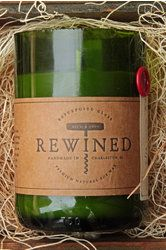 Rewined Wine Bottle Candles