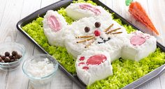Hop-to-it Easter Bunny Cake recipe - how to make your own bunny cake in 10 easy steps
