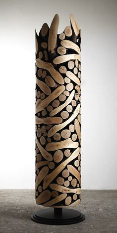 lee jae-Hyo- Title=0121-1110=111035 Material/ Wood Size/ 50x50x210cm Year/ 2011