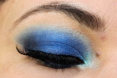 http://www.cosmeticsaficionado.com/aqua-midnight-blue-smoky-eyes/ via @CosmeticsAficionado blue smoky eyes, blue smokey eyes, smokey eyes, smoky eyes, dramatic makeup