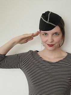 Wherein I Sew a Flight Cap