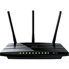 This old-fashion jet black router comes with a high-speed cable modem. It is 1.75Gbps, which is 450Mbps at 2.4GHz and 1300Mbps at 5GHz. This wonderful product connects well with other technological devices when supporting 802.11ac.
