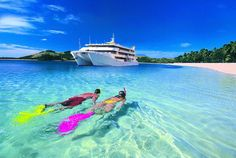 Luxury 8 Day Fiji Escape - Includes a 4 Night Island Cruise and Return International Flights!