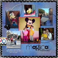 Allred Design Blog: Magical Templates - Disney Ideas