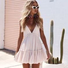 20 Casual Summer Dresses for Women Sundresses Classy Simple Cute Outfits - Lifes. Sun sun dresses plus size sun dresses with sleeves sundress outfits sundresses dresses sundresses for weddings dresses sundresses Wedding Invitations Trends 2019 Mode Outfits, Stylish Outfits, Fashion Outfits, Vest Outfits, Womens Fashion, Travel Outfits, Travel Wardrobe, 30 Outfits, Italy Outfits